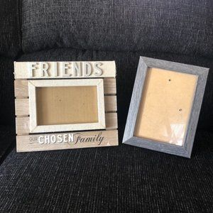 4x6 & 5x7 Wooden Picture Frame Bundle (2)